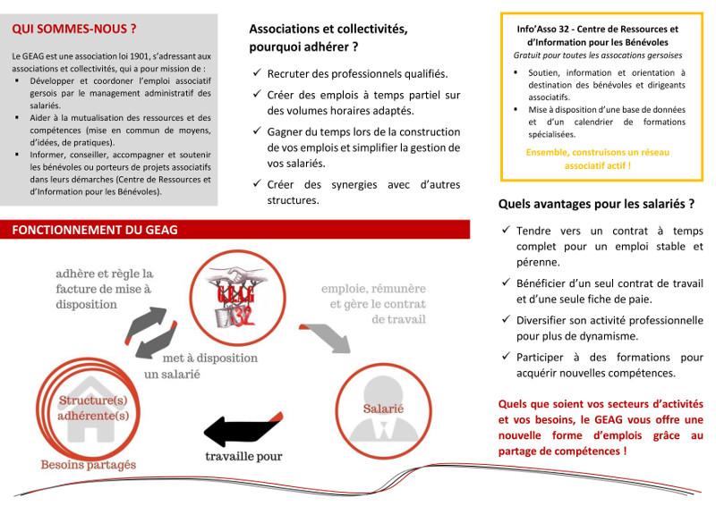 Plaquette de présentation du GEAG - page 2