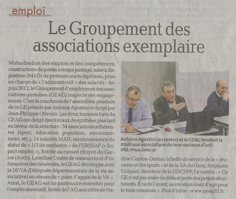 Article assemblée générale GEAG
