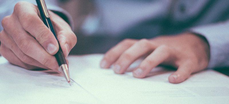 Signature contrat de travail